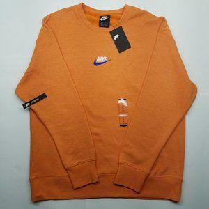 Nike SWOOSH Crew Sweatshirt - Tiger Orange XL